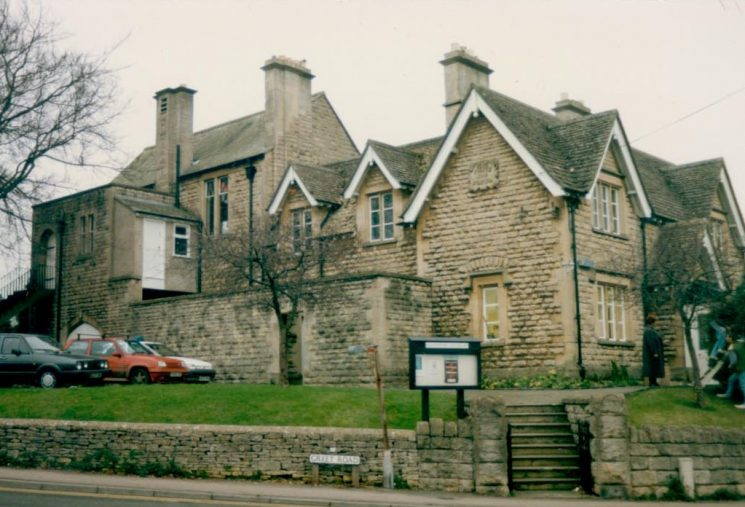 Winchcombe Police Station 1991. (Gloucestershire Police Archives URN 1098)