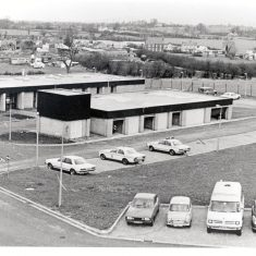 Bamfurlong Motor Patrol Centre opened 1978 the building cost £331,136. (Gloucestershire Police Archives URN 257)