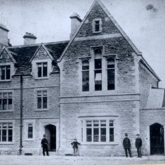 Tetbury Police Station in use 1880 to 1970. (Gloucestershire Police Archives URN 27)
