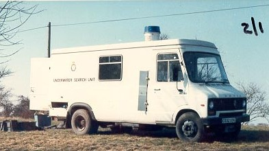 Force Underwater Diving Squad Vehicle C322 UDG 1980s. (Gloucestershire Police Archives URN 678)