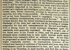 The First Murder of a Gloucestershire Police Officer