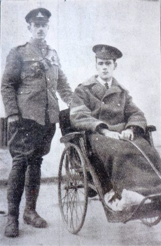 Robert and Edward Hayward- wounded heroes