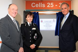Photograph of the chief constable and the police and crime comissioner
