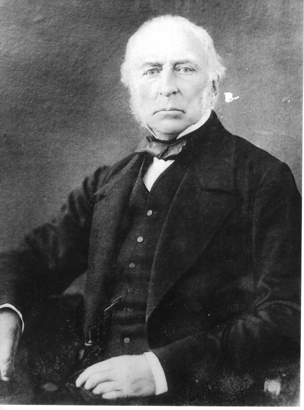 Chief Constable Anthony Thomas Lefroy. Chief Constable 1839 -1865. (Gloucestershire Police Archives URN1.1)
