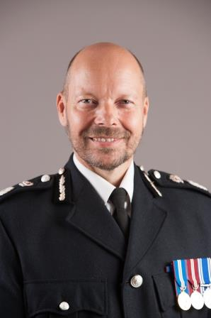 Chief Constable Rod Hansen. (Gloucestershire Police Archives URN 10235)