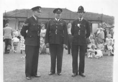 Police Officers at Dursley Town Gala Day 1962
