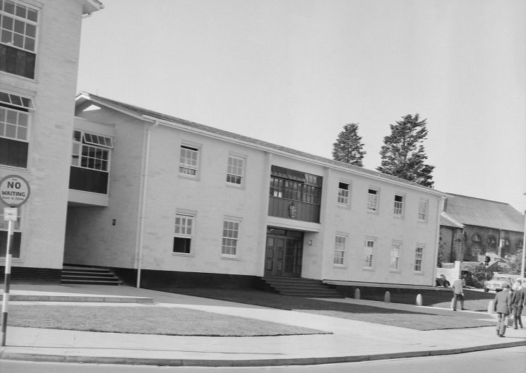 Cirencester Magistrates Court 1965. (Gloucestershire Police Archives URN 1081)