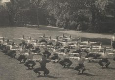 Recruits Undergoing Physical Training