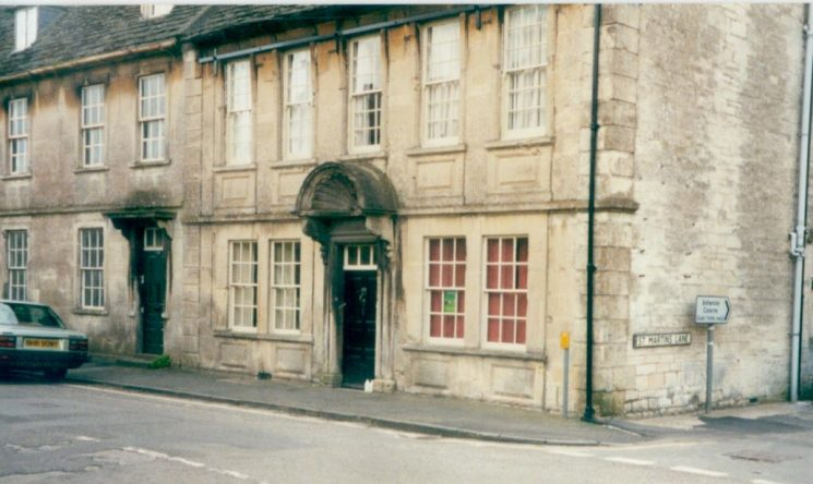 Former Police Station at Marshfield South Gloucestershire. (Gloucestershire Police Archives URN 1191)