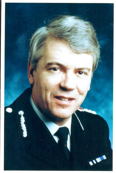 Chief Constable Dr Tony Butler, Queen's Police Medal,  Chief Constable 1993 - 2001. (Gloucestershire Police Archives URN 1420)