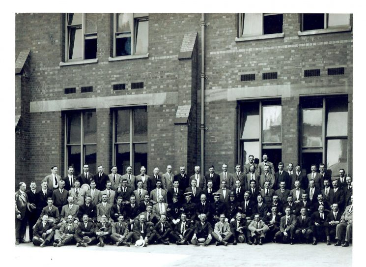 Cheltenham Grammar School for police exams July 1923. (Gloucestershire Police Archives URN 1436) | Cheltenham Chronicle and Gloucester Graphic