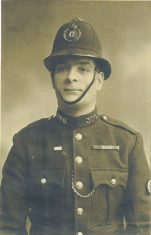 Police Constable 306 Charles Stafford Gowing. (Gloucestershire Police Archives URN 1485)