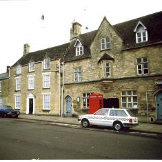 Fairford police station. (Gloucestershire Police Archives URN 1492)