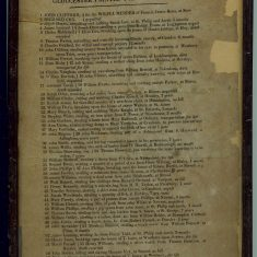 Sentences of prisoners tried at the Gloucester Summer Assize August 1834. (Gloucestershire Police Archives URN 1495)