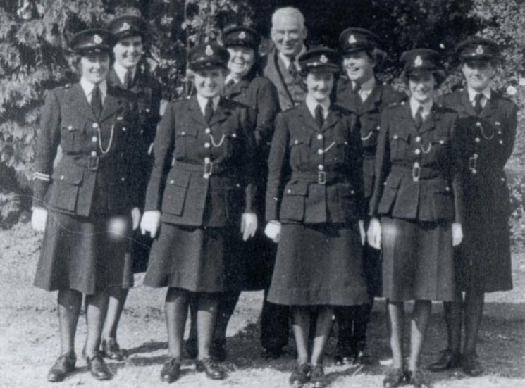 County policewomen 1953. (Gloucestershire Police Archives URN 151)
