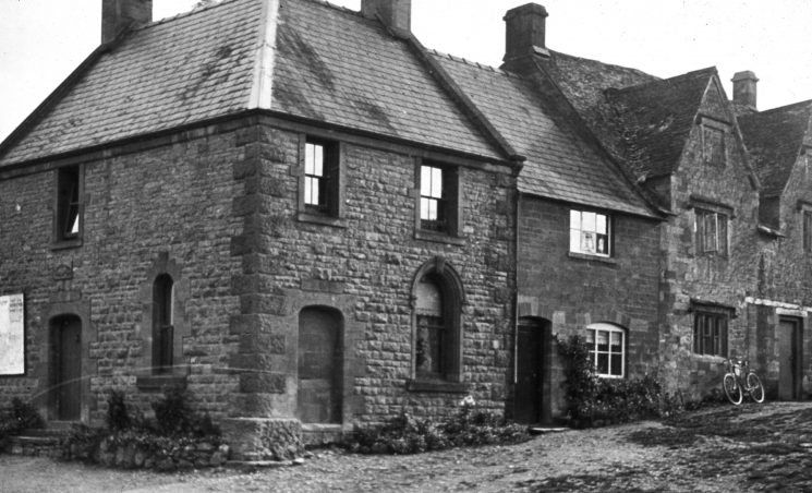 Guiting Power police station. (Gloucestershire Police Archives URN 1556)
