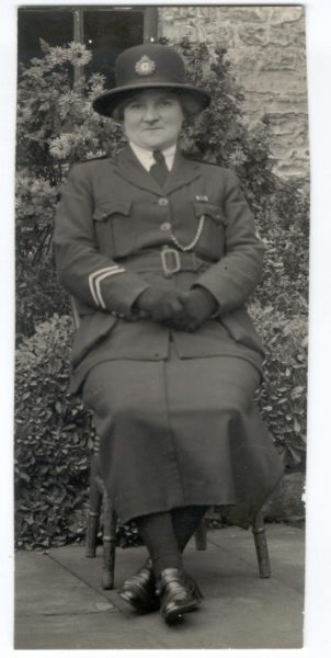 Woman Police Constable Tonra 1945. (Gloucestershire Police Archives URN 172)