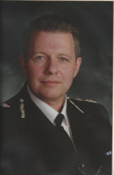 Chief Constable Tony Melville Chief Constable 2010-2012. (Gloucestershire Police Archives URN 1854)