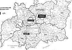 New County of Gloucestershire and Divisions April 1974
