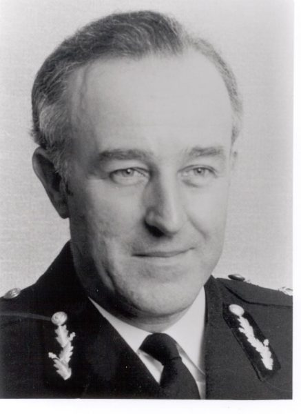 Chief Constable Brian Weigh Queens Police Medal. Chief Constable 1975 -1979. (Gloucestershire Police Archives URN 224)