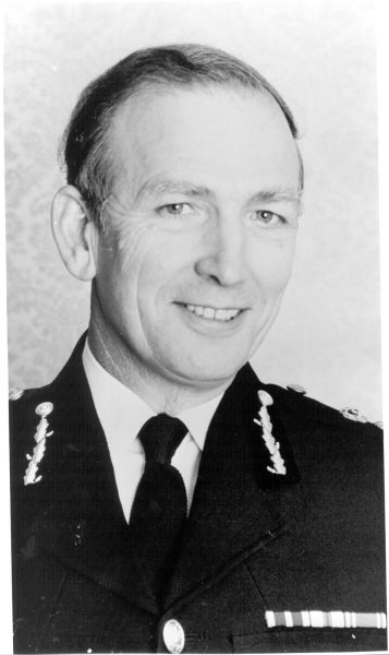 Chief Constable Leonard Soper Queens Police Medal. Chief Constable 1979-1987. (Gloucestershire Police Archives URN 253)