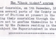 Check Ticket System Order 1840