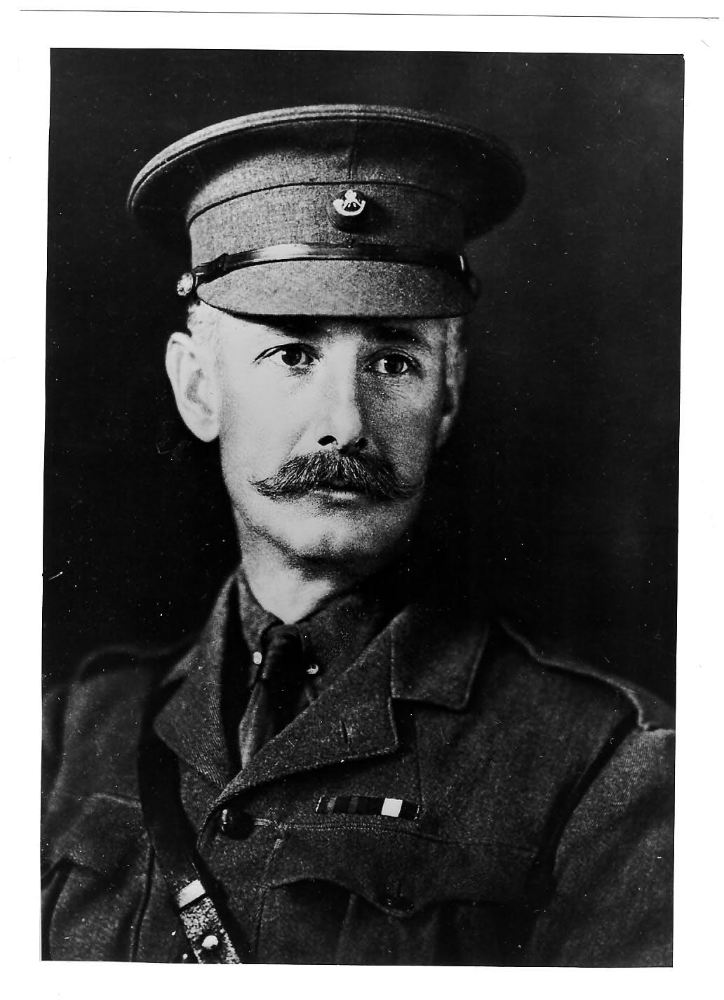 Chief Constable Lieutenant Colonel Richard Chester-Master. Distinguished Service Order Chief Constable 1910 -1917 Recalled to the colours 5th January 1915 killed in action 30th August 1917. (Gloucestershire Police Archives URN 57)