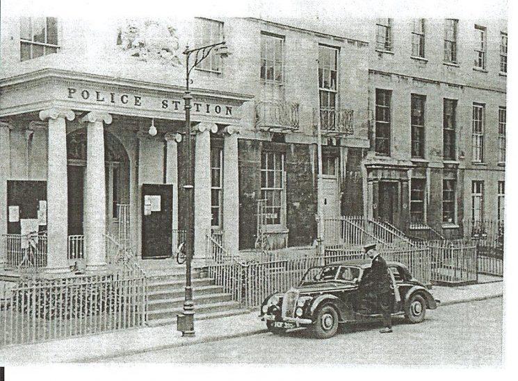 Central Police Station Crescent Terrace Cheltenham. (Gloucestershire Police Archives URN 653)