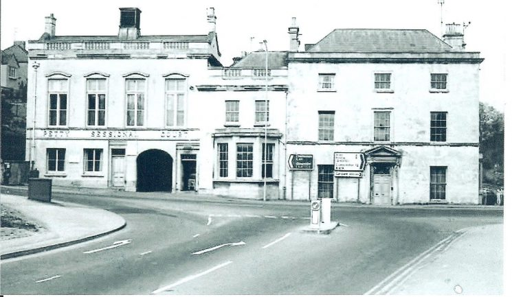 Stroud Police Station. (Gloucestershire Police Archives URN 869)