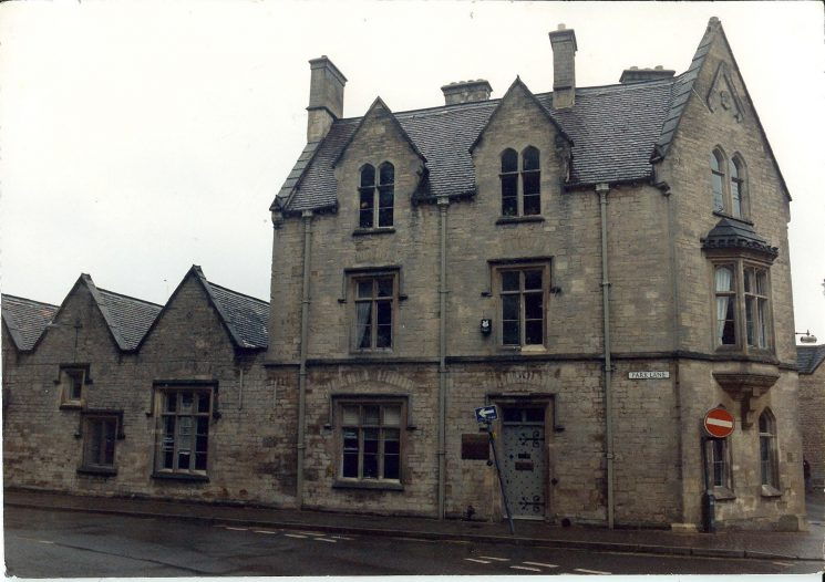 Cirencester Police Station 1953. (Gloucestershire Police Archives URN 870)