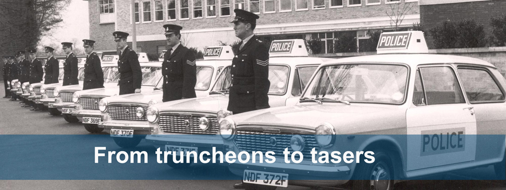 From truncheons to tasers