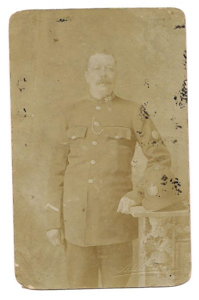 Police Constable 301 believed to be Frederick Edward Jackson. (Gloucestershire Police Archive URN URN 1629-2)