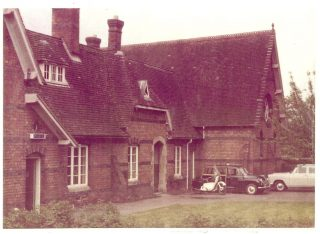 Newent Police Station which closed circa 1973. (Gloucestershire Police Archives URN 1738-2)