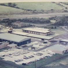 Bamfurlong Motor Patrol & Operations Centre circa mid-1980s. (Gloucestershire Police Archives 1972-1)