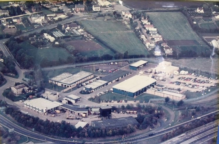Bamfurlong Motor Patrol & Operations Centre circa mid-1980s. (Gloucestershire Police Archives 1972)