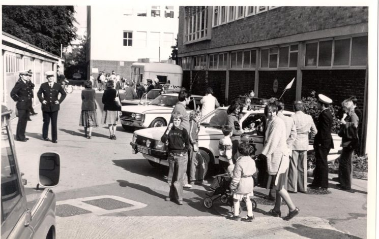Open Day at Police Headquarters 1979. (Gloucestershire Police Archives URN 265)