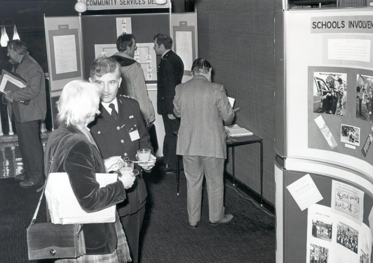 Launch of Community Services Department at Police  Headquarters. (Gloucestershire Police Archives URN 369)