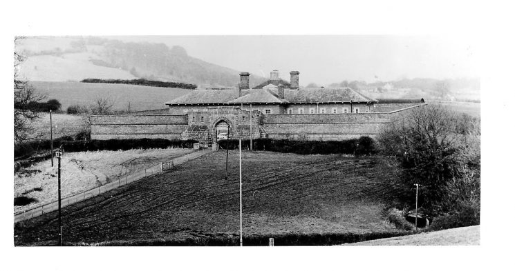 Littledean Bridewell, Prison and Police station. (Gloucestershire Police Archives URN 42-3)