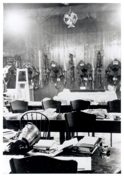 A room at Police Headquarters used for saddlery. (Gloucestershire Police Archives URN 574)