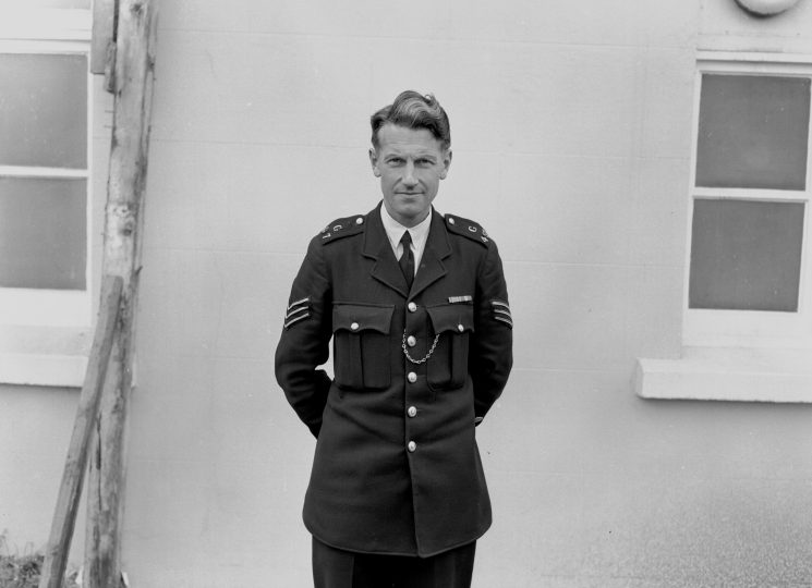 Sergeant Richard Thomas (later Chief Constable Dyfed-Powys) (Gloucestershire Police Archives  URN  1094)