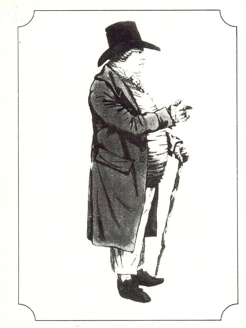 Picture of a 19th century official (Gloucestershire Police Archives URN 1585(a))