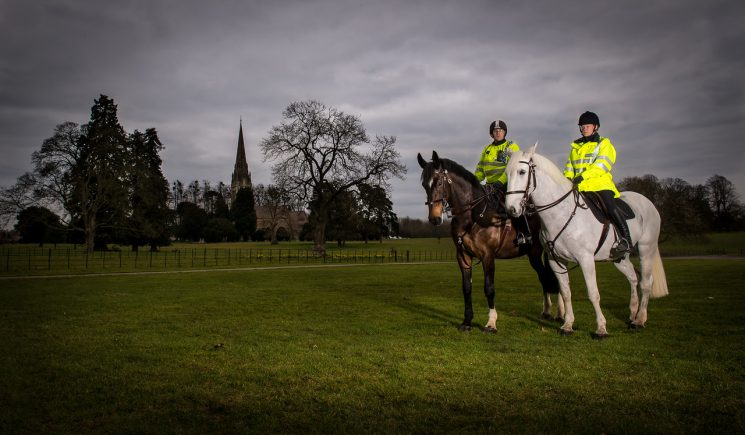 Mounted Section 2016. (Gloucestershire Police Archives  URN 2048-30)