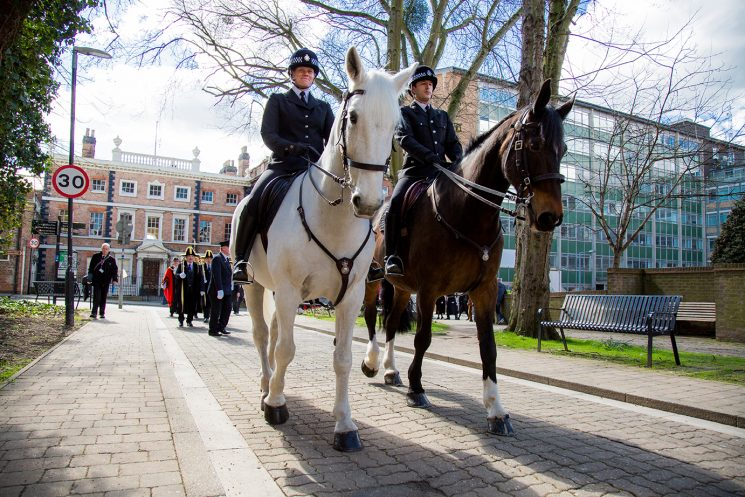 Mounted Section 2016. (Gloucestershire Police Archives  URN 2048-33)