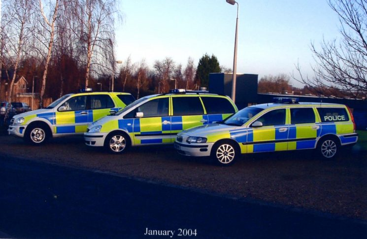 Police Cars 2004 (Gloucestershire Police Archives URN 2244)