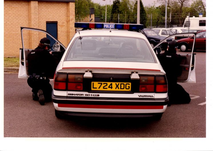 Early armed response vehicle (Gloucestershire Police Archives URN 2238)