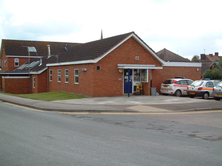 Newent Police Station (Gloucestershire Police Archives URN 2290) | Photograph from Dave Blakeman