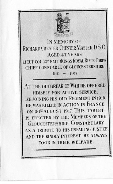 Page 4 (Gloucestershire Police Archives URN 2319)