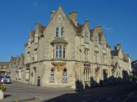 Old police station Cirencester.(Gloucestershire Police Archives URN 2353) | Photograph from Barry Manning