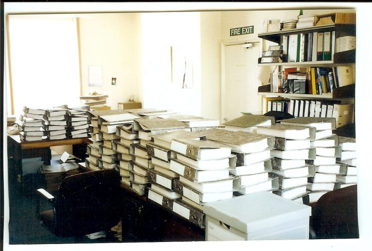 Preparation of  prosecution file. (Gloucestershire Police Archives URN 1545)