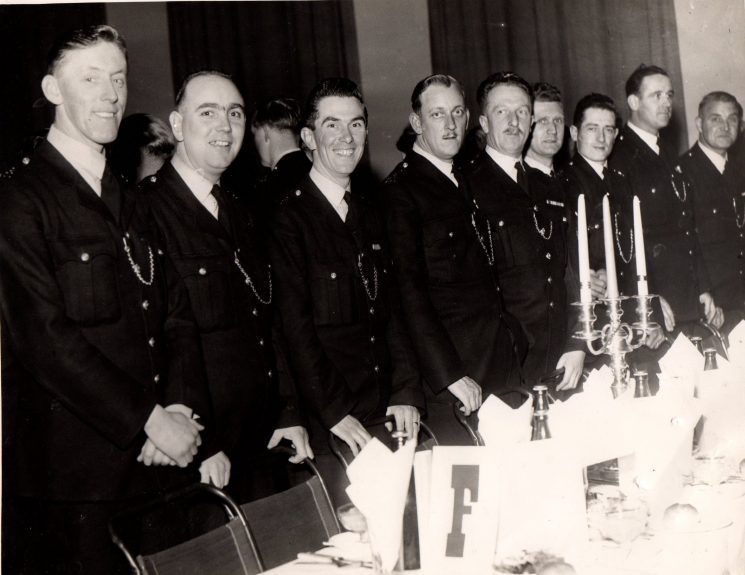 Dave Stevens at the Sherriffs dinner (Gloucestershire Police Archives URN 1937-5) | Photograph from Graham Stevens
